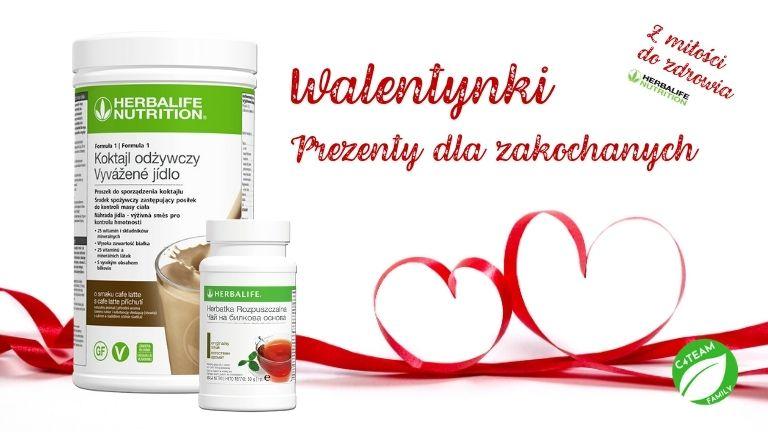 Pomysł na prezent Walentynkowy od Herbalife